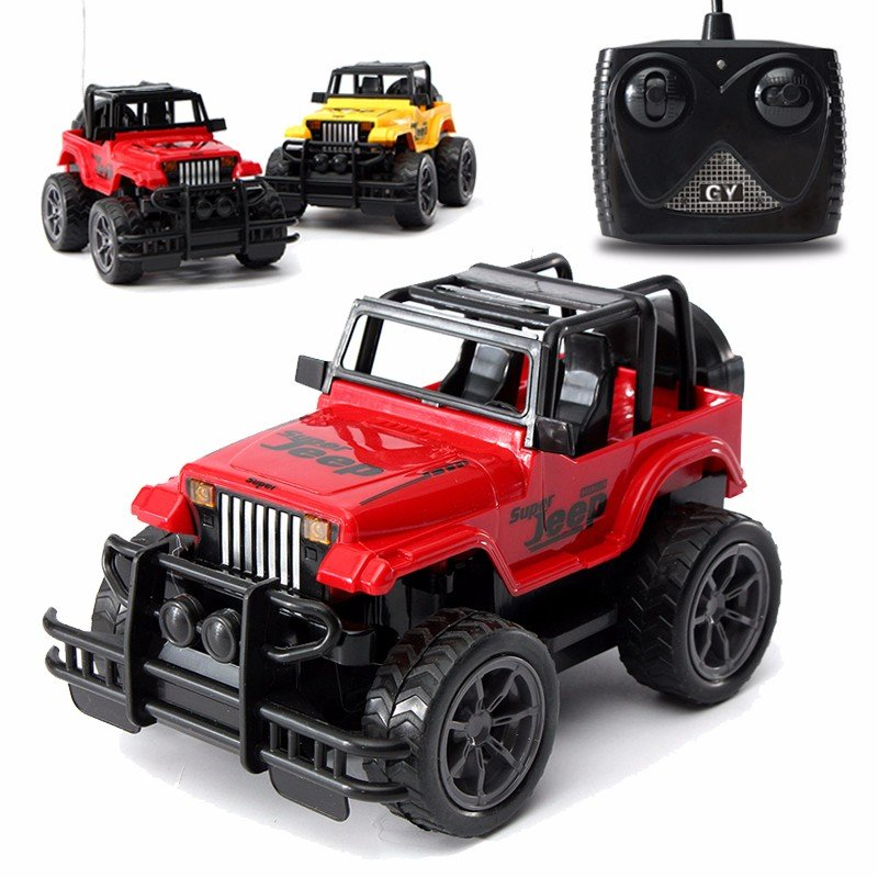 124 rc car remote control big wheel off road car vehicle kids toy