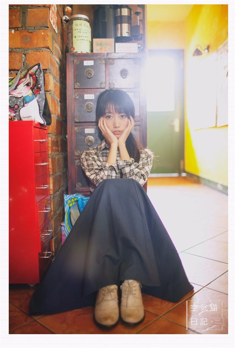 linen skirt 06