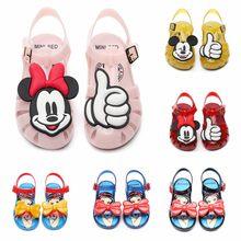 4d8e8544 Las niñas sandalias de verano nueva princesa viento suave jelly zapatos  antideslizante sandalias de playa niños