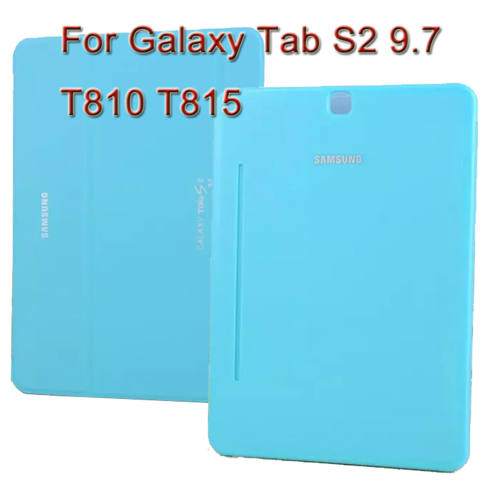 3 in 1 , PU Leather Case Stand Tablet Cover Case For Samsung Galaxy Tab S2 9.7 SM-T810 T810 T815 + Screen Film + Stylus