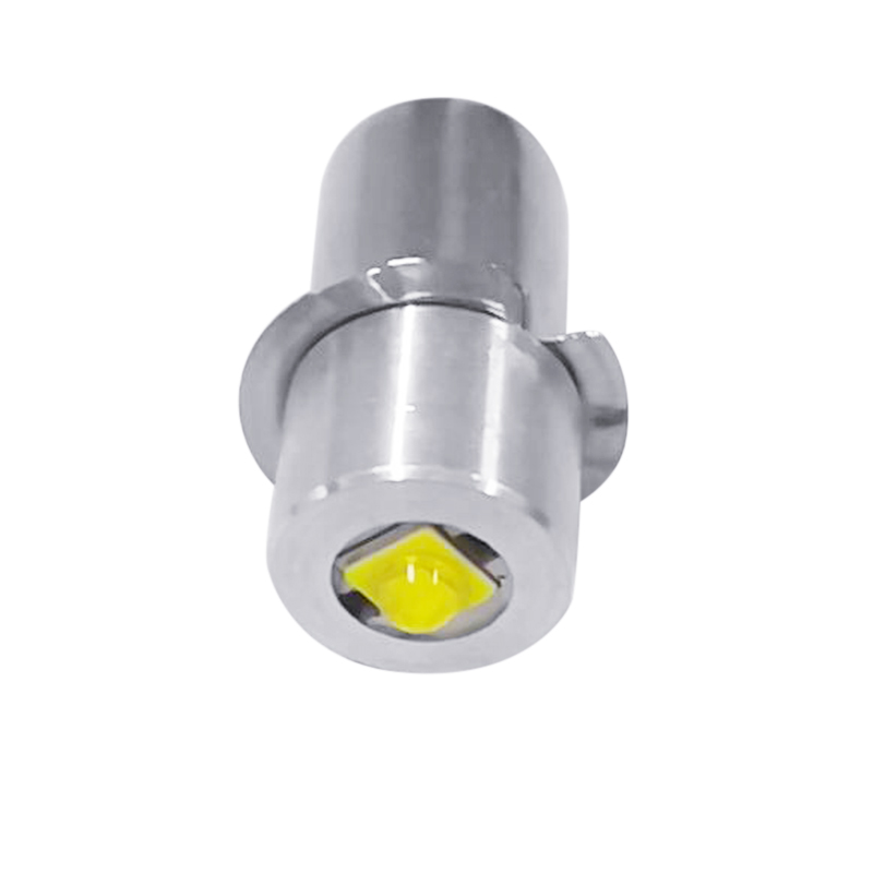 2 Pcs 3W <font><b>LED</b></font> Small Bulb P13.5s <font><b>E10</b></font> Series <font><b>LED</b></font> Bulb 3V/4-12V/6-<font><b>24V</b></font> ALI88 image
