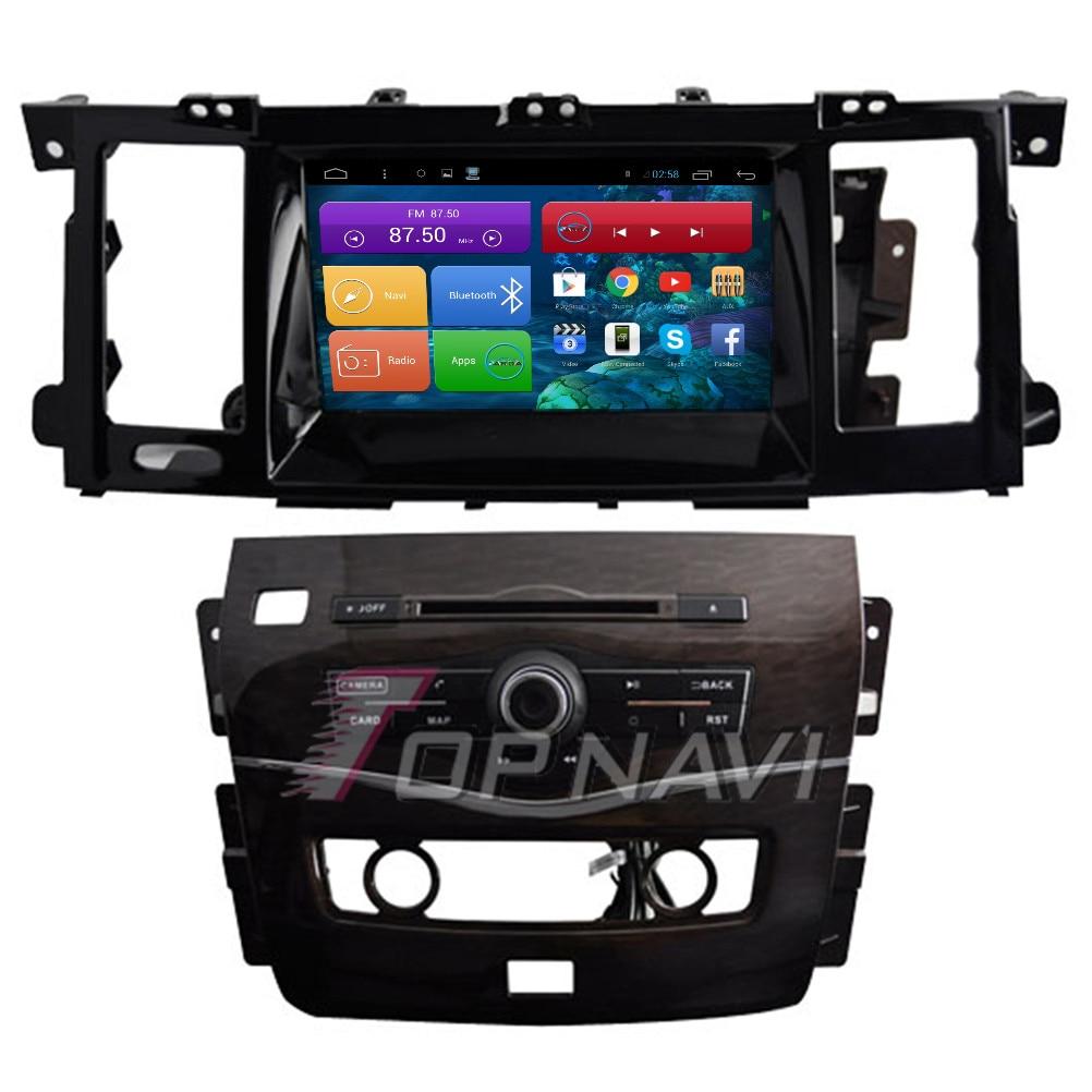 Topnavi 8 4 ядра Android 6.0 автомобиль GPS навигации для Nissan Patrol 2012 Авторадио Мультимедиа Аудио стерео, no dvd