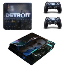Game Detroit Become Human PS4 Slim Skin Sticker