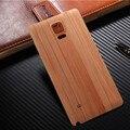 Ультра-тонкий Задняя Крышка Моды Древесины Бамбука Дизайн Для Samsung Galaxy Note 4 N9100 Пластиковый Корпус Батареи Задняя Крышка случае