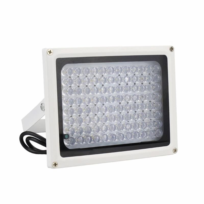 Surveillance Cameras Outdoor Waterproof 30 Degree 96pcs Infrared Leds IR illuminator Night Vision Fill Light Free Shipping