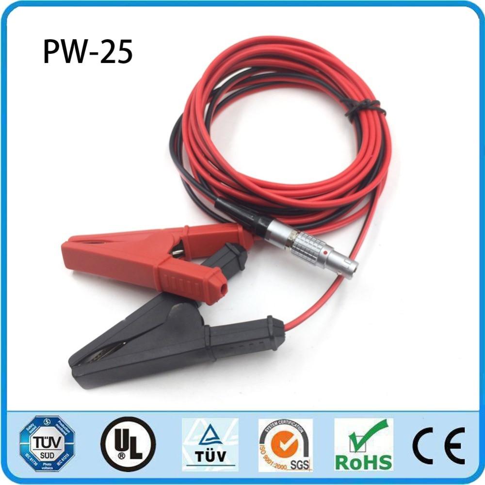 Hi target V60 H32 V30 and V90 RTK GPS PW 25 Battery External Power Cable
