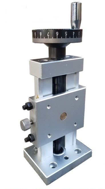 Precision Vertical Slide Dovetail Slot Screw Sliding Stage Z-axis Platform