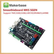 Смузи доска МКС SGEN V1.0 3D принтер мать карточка 32 бит ARM материнская плата интегрированный контроллер совместим Smoothieware