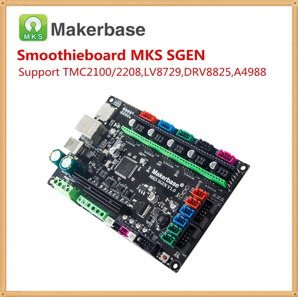 Smoothie board MKS SGEN V1.0 3D printer mother card 32 bit ARM motherboard integrated controller compatible SmoothiewareSmoothie board MKS SGEN V1.0 3D printer mother card 32 bit ARM motherboard integrated controller compatible Smoothieware