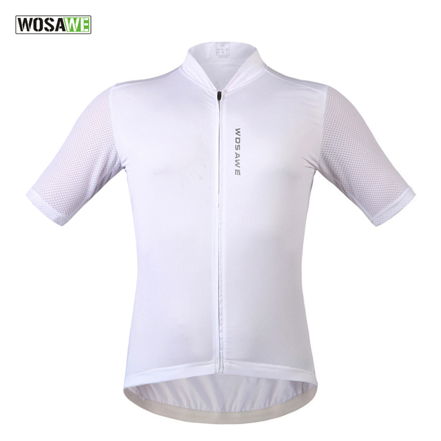 212086b07 WOSAWE New Men s Jerseys Short Sleeve Cycling Jersey Racing Running Fitness  Sports Wear Ropa Ciclismo Road