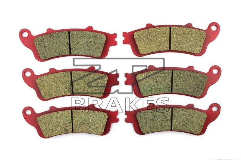 Motorcycle Brake Pads For HONDA VTX 1800 C2-4/C15/CA6/CA7 2002-2008 F + R New Ceramic Composite High Quality ZPMOTO motorcycle brake pads ceramic composite for triumph 800 tiger 2011 2014 front rear oem new high quality zpmoto