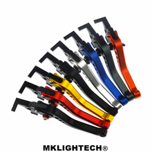 цена на MKLIGHTECH FOR KTM 690 Duke R 2014-2017 Motorcycle Accessories CNC Short Brake Clutch Levers