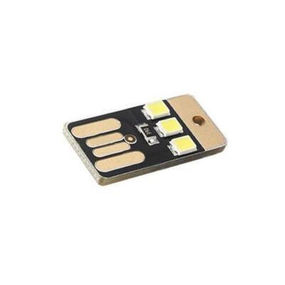 Multi-Function New Pocket Card Lamp Bulb Led Keychain Novetly Mini LED Lighting Portable USB Power White