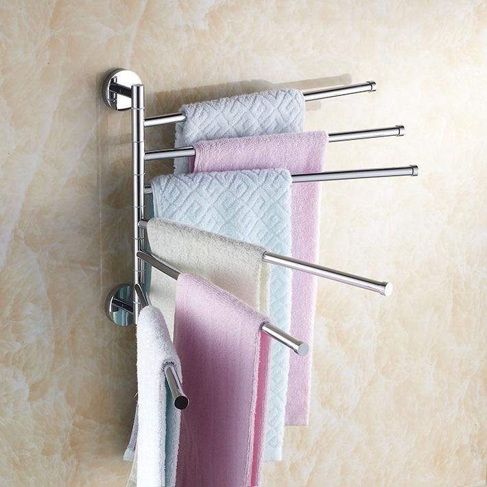 Copper 360 Degree Rotation Towel Rack six   Layer Activities Towel Bar Bathroom Accessories bathroom shelves levett caesar prostate massager for 360 degree rotation g spot