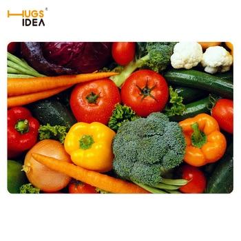HUGSIDEA 3D verduras Casa Alfombras Tapis antideslizante cocina Tapetes Alfombras Para Casa...