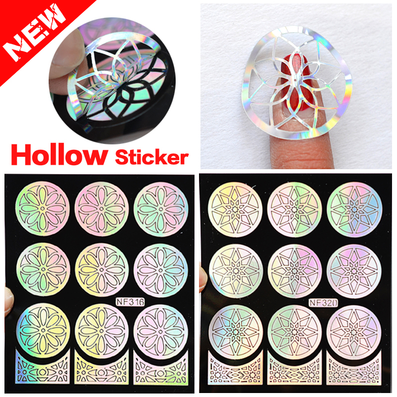 Nail Art Games For Girls On The App Store: 1Pcs Nail Design Hollow Stencils Stickers Plates Template