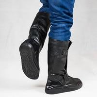 Reusable Men Waterproof Shoe Cover Silicone Non slip Rain Shoe Covers Waterproof Shoe Protectors for Men