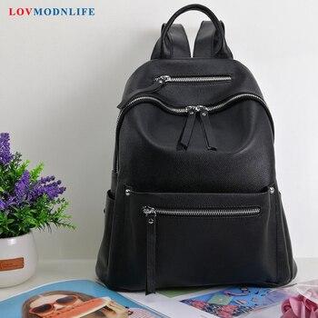 Luxury Black Women's backpack Small Travel backpack for women Girls bookbag Cute bagpack Designer backpacks women High Quality