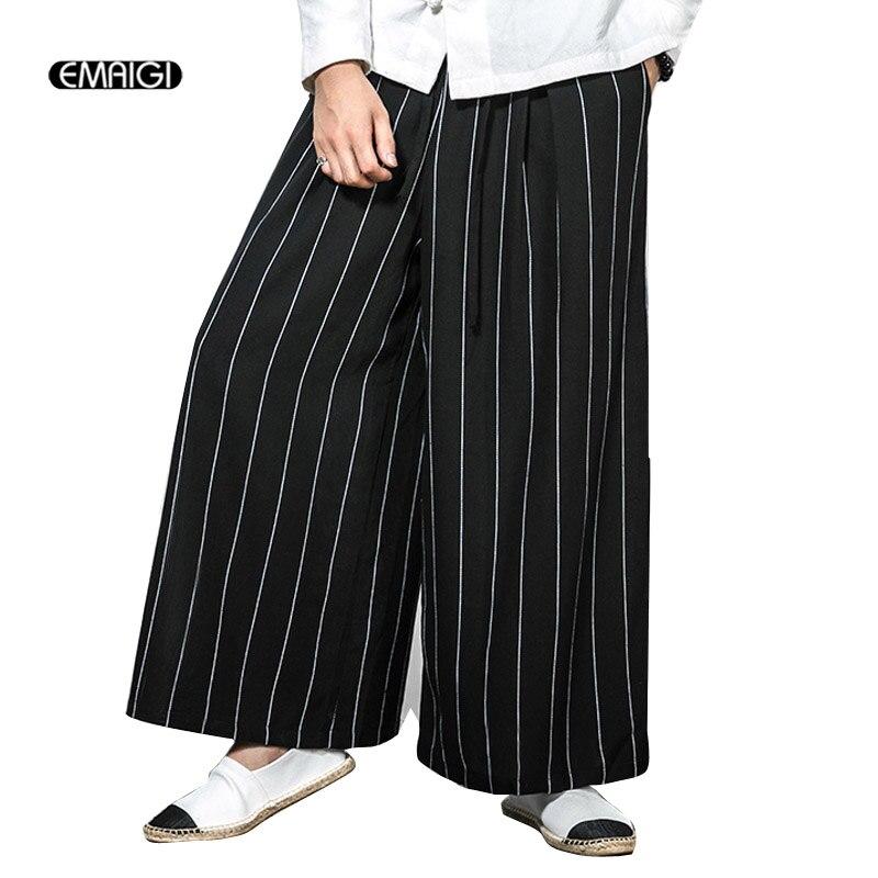Men Ribbons Stripe Spliced Casual Shirts Male Streetwear Hip Hop Stage Show Harajuku Dress Shirt
