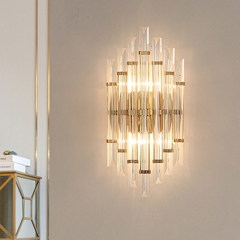 Living Room led Wall Lamps Creative Up Down Wall Light Bathroom Light Fixture Crystal Wall Sconces Restaurant led Crystal Lights led modern aisle wall sconces living room wall lights nordic restaurant lighting bedroom fixture novelty stairs wall lamps