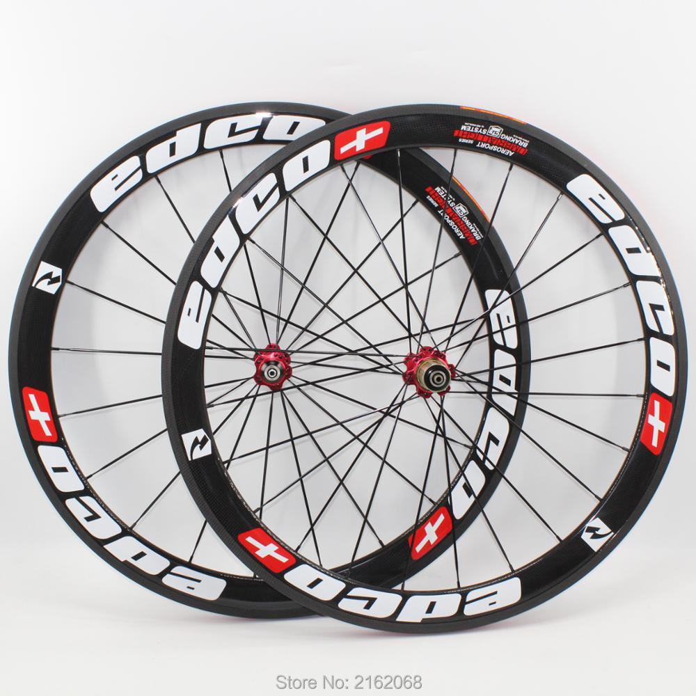 Newest 700C 50mm Road bicycle T1000 3K UD 12K full carbon fibre bike wheelsets carbon 20