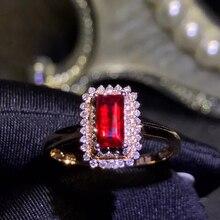 a78ea428e972 Joyería de piedras preciosas al por mayor de la fábrica clásico de oro  amarillo de 18 k del Sur África diamante verdadero anillo.