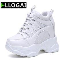 Super High Heels Platform Sneakers Women Casual Shoes Comfor