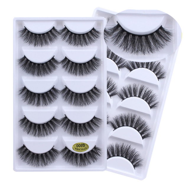 3ee6a3b5875 3D Mink Eyelashes False eyelashes 7 Styles Handmade Beauty Thick Long Soft Mink  Lashes Fake Eye Lashes Eyelash-in False Eyelashes from Beauty & Health on  ...