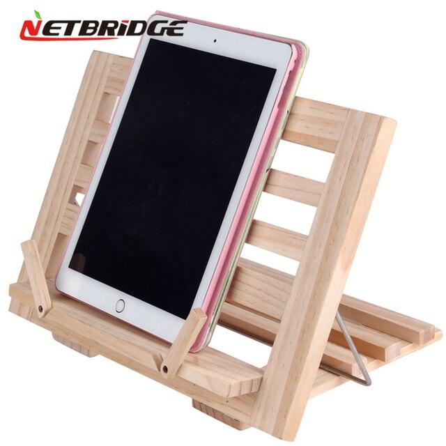 Universal tablet titular laptop stand para mackbook air 13 ipad samsung asus xiaomi ajuste hould anjo suporte de madeira montagem