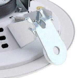 Image 4 - 10W 5 Inch Metall Mikrofon Eingang USB MP3 Player Decke Lautsprecher Öffentlichen Broadcast Musik Lautsprecher für Home/Supermarkt