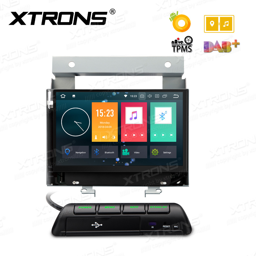 xtrons 7 android 8 0 octa core radio gps dab usb sd 4g. Black Bedroom Furniture Sets. Home Design Ideas