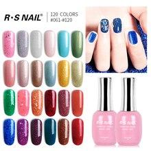 RS NAIL Gel Polish Nail Art New Seires 120 Colors #061-120 UV LED Varnish Esmalte Permanente Vernis Semi Permanent 15ml (2)