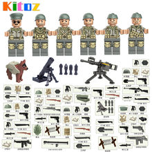 6036a470ecfca0 2017 WW2 North Africa Campaign US 5th Infantry Division Army Tunisia  Offensive Military Building Block Toy