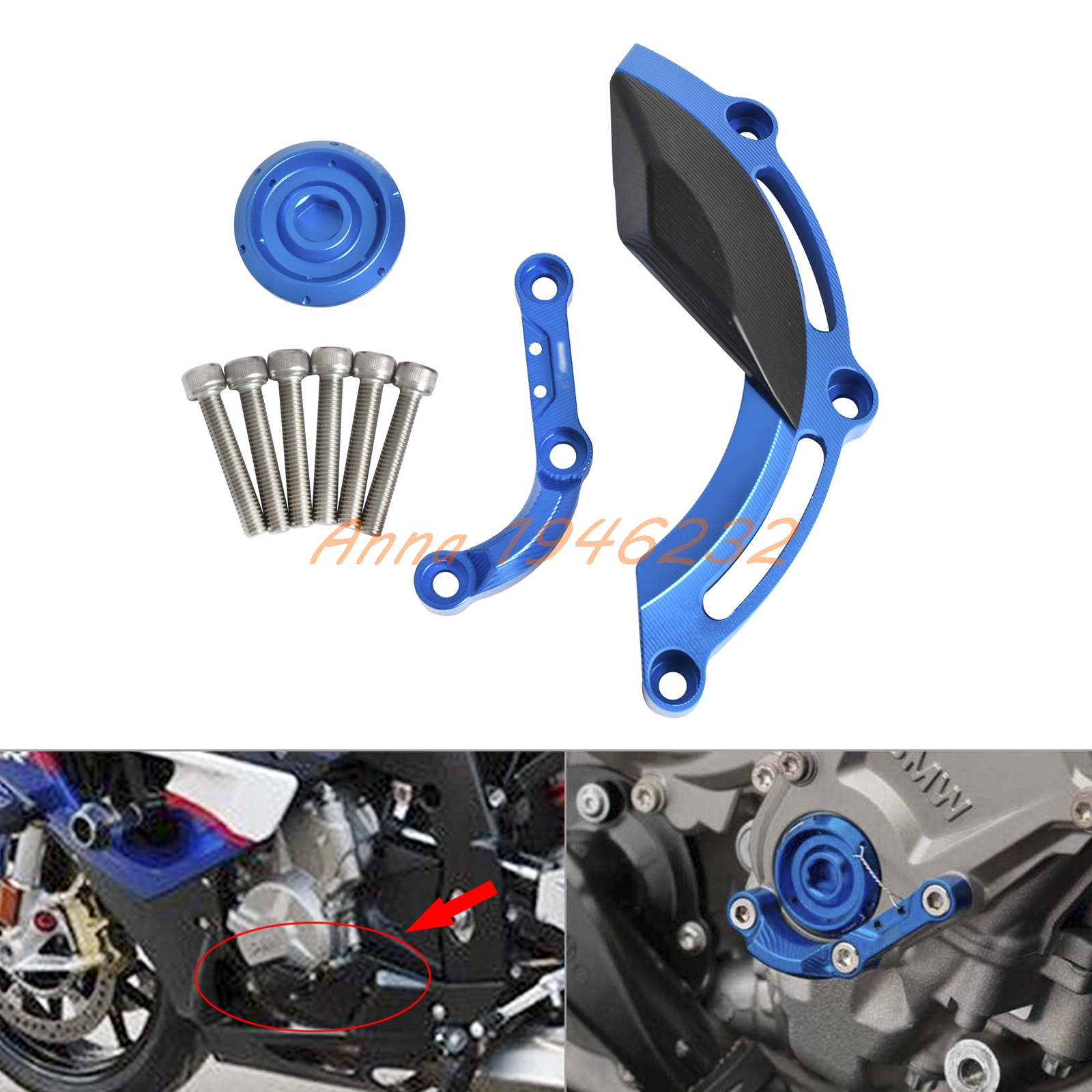 Motorcycle Engine Slider Cover Crash Protector For BMW S1000R 13-17 S1000RR  10-17 S1000XR 14-17 HP4 2012-2014