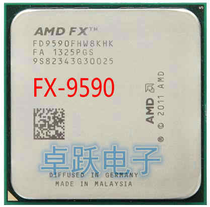 AMD FX 9590 AM3+ 4.7GHz 8MB CPU processor FX serial scrattered pieces free shipping FX-9590 FX9590