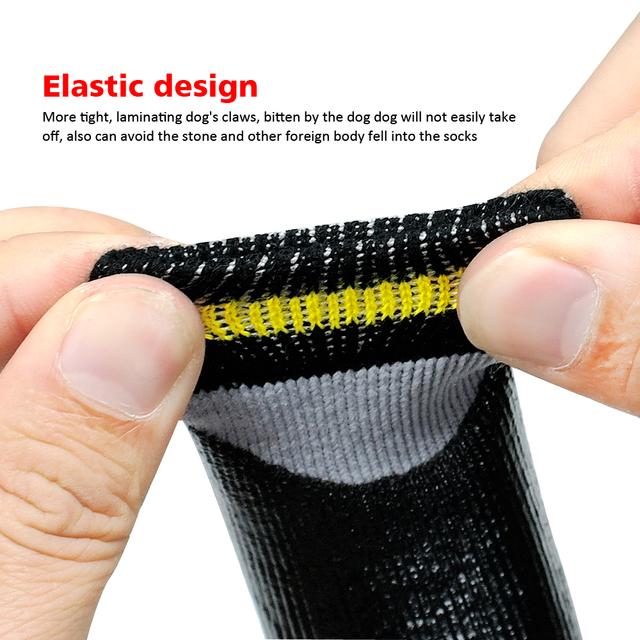 Dog Socks Non-Slip Anti Skid Cotton Elastic Shoes