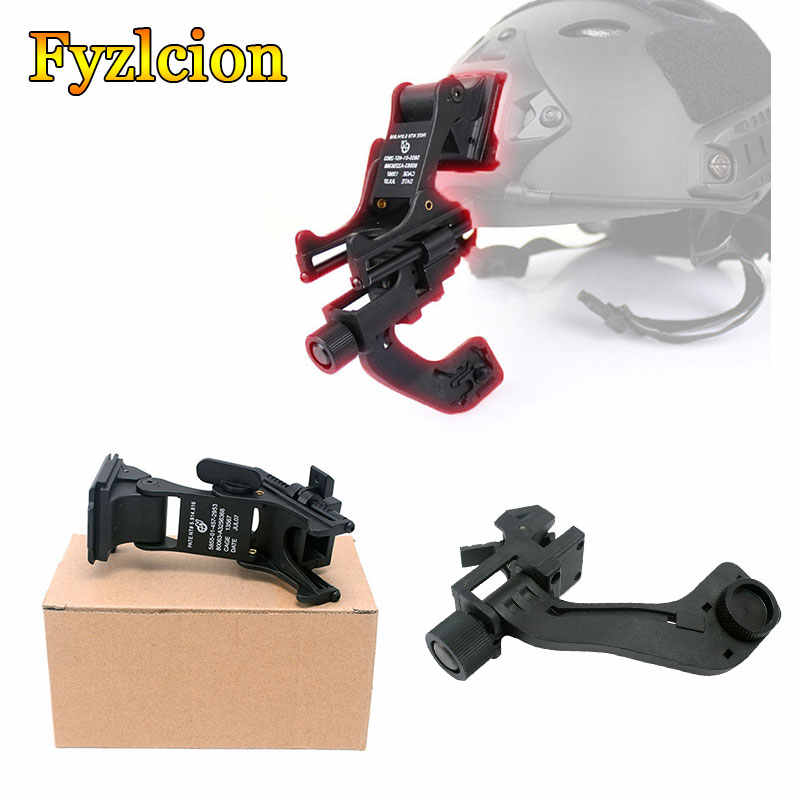 Tactical  PPT NVG J Arm Mount Tactical Night Vision Scope Accessory Night Vision Mount Set fits Helmet PVS-14 Pulsar GS1X20