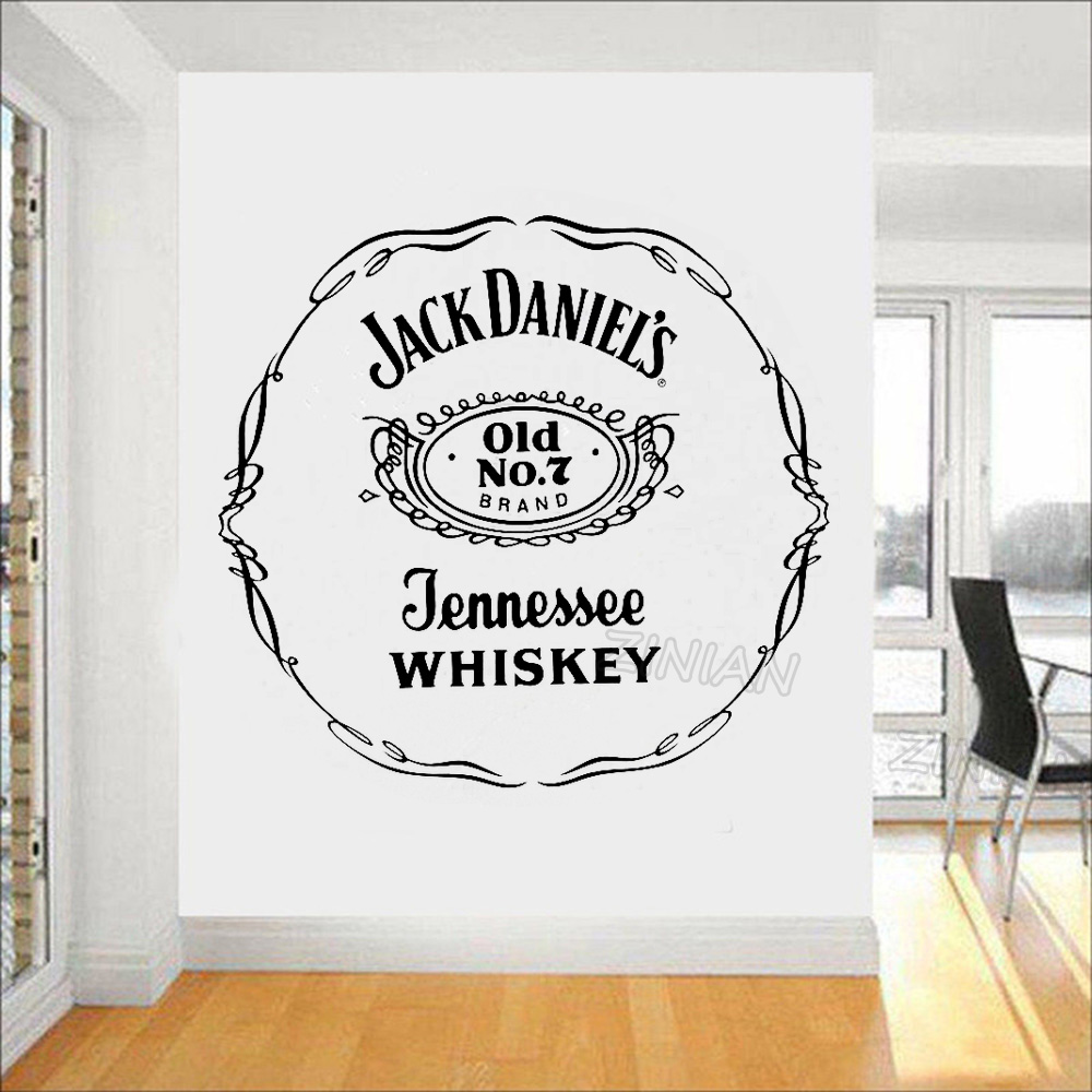 Vintage Poster Wall Sticekrs Quotes Jack Daniel Old NO 7 ...