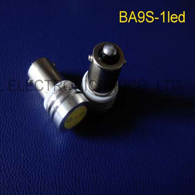 High power 6V 1W BA9S led Instrument Lights,BA9S led warning lights 6.3v LED indicating lamp BA9S led 6v free shipping 5pcs/lot image