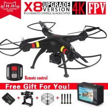 SYMA X8 X8A X8W FPV font b RC b font Drone With 4K Untra HD Camera