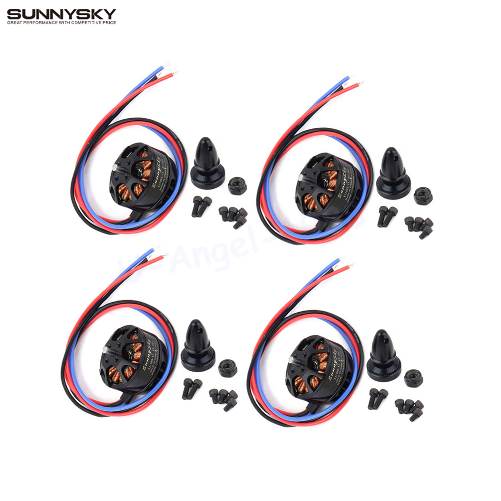 4set/lot SUNNYSKY X3108S 720KV 325W 22A/30S 1kg Brushless Motor Efficient Shaft Disk Motor for Multi-rotor copter