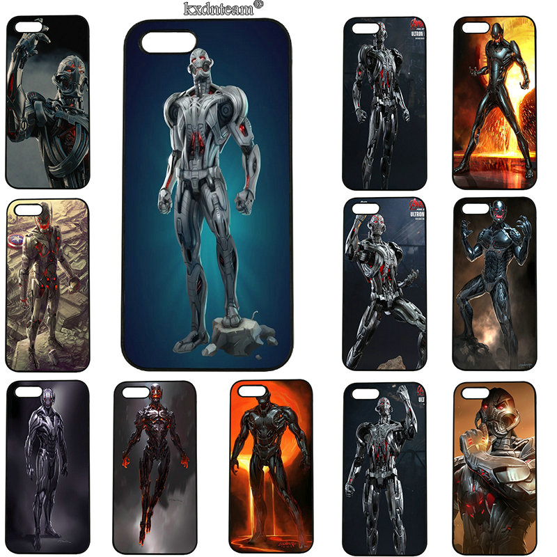 Age of Ultron Avengers Mobile Phone Cases Hard PC Plastic Cover for iphone 8 7 6 6S Plus X 5S 5C 5 SE 4 4S iPod Touch 5 6 Shell
