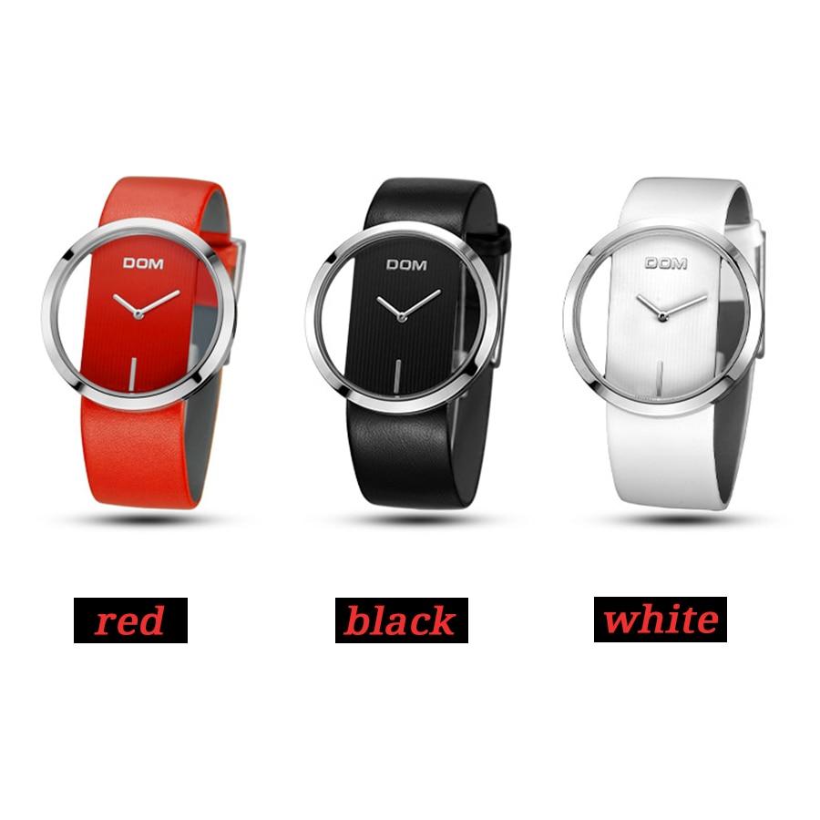 DOM Reloj Mujer de lujo Moda Casual 30 m relojes de cuarzo a prueba - Relojes para mujeres - foto 3