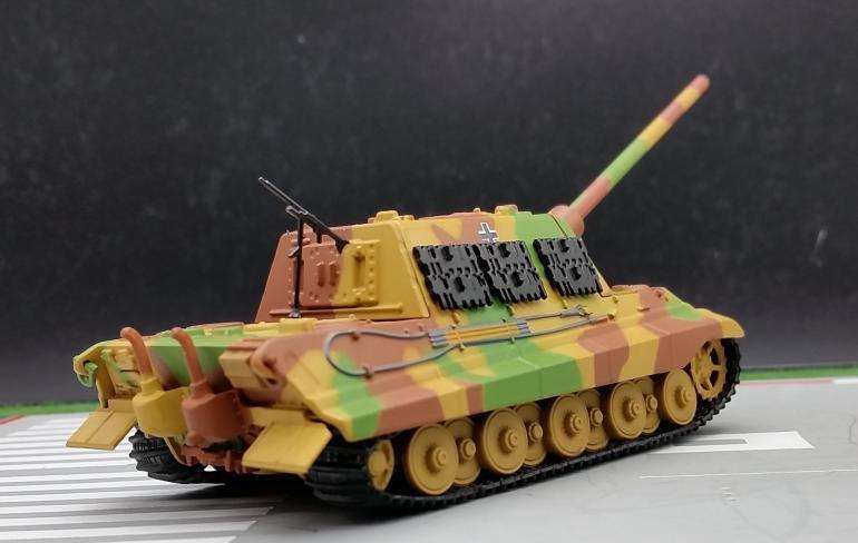 AM 1:72 German Heavy Tank Destroyer Jagdtiger model Alloy tank model
