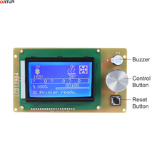 цены на 3D Printer Parts LCD 12864 LCD Control Panel 12864 lcd display for Ortur 3D Printer Smart Controller RAMPS1.4 Fast Delivery  в интернет-магазинах