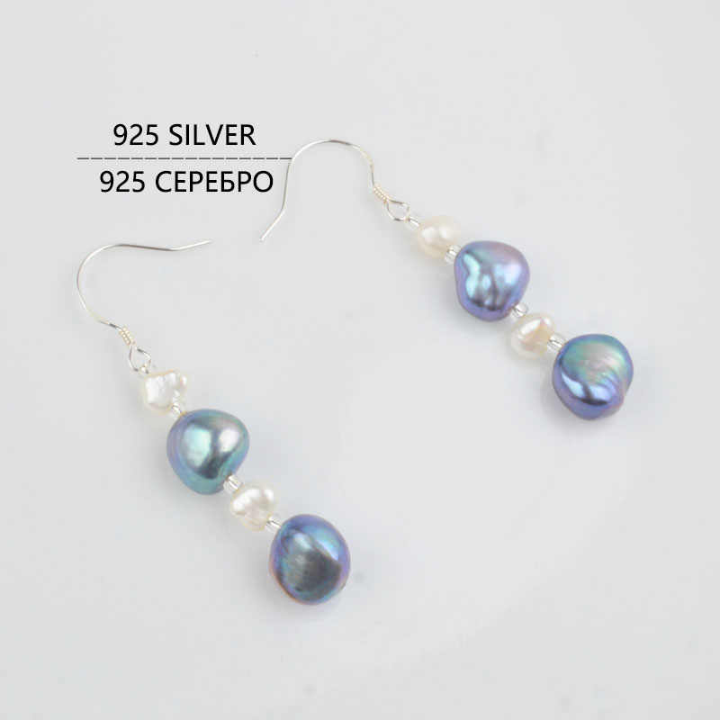 ASHIQI Natural Baroque pearl Jewelry Set Freshwater pearl Necklace Bracelet Earrings For Women New Arrival NE+BR+EA