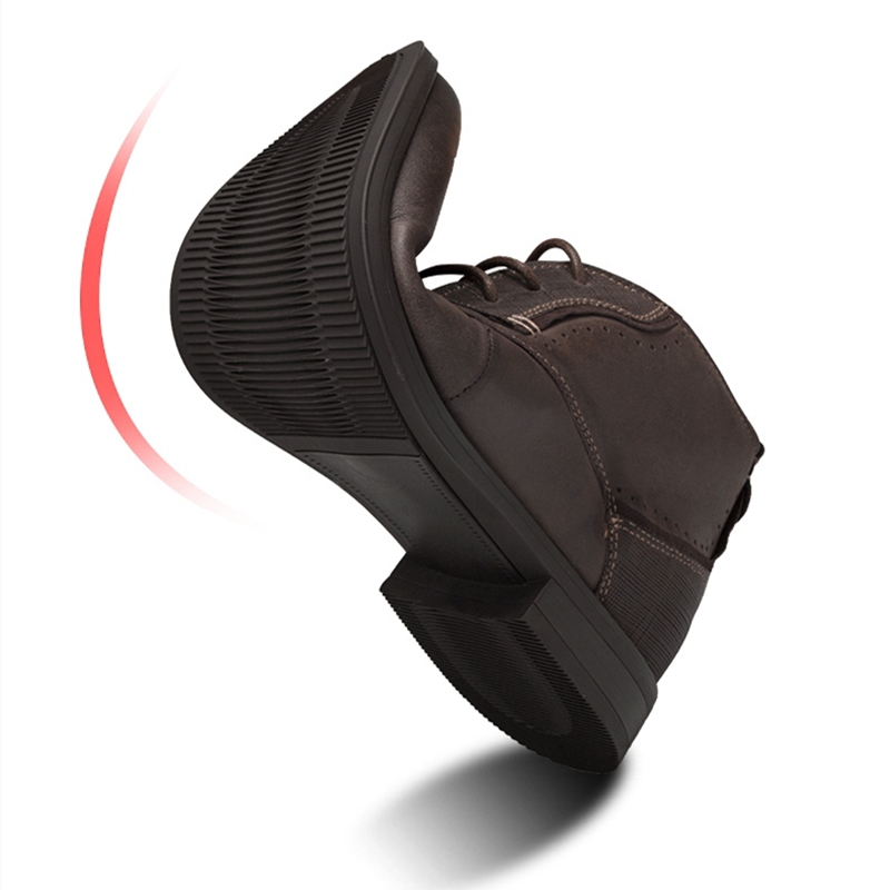 Inverno brown Serena Increased Boots Black Festa brown Genuíno Masculinos Negócios Aumentou Dos Ponto Sapatos De Couro Marca Botas Mens Oxford 5cm Increased Homens Boots Vestido black Cm Nova Britânico 5 Sapato gxqngrCwU