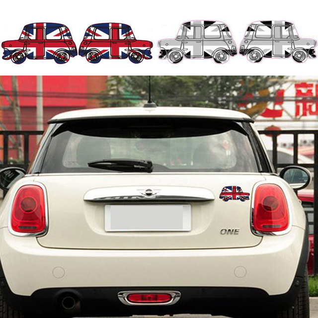 Car Styling Sticker UK Flag Car Styling Sticker Accessories For BMW Mini  Cooper One S