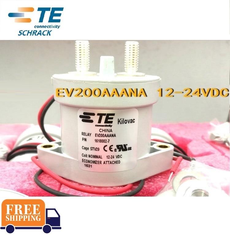 TE relay EV200AAANA 12 24VDC 1618002 7 relay Brand new and original
