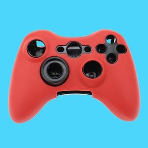 Image 4 - جراب سيليكون لجهاز Xbox 360 ، 11 لونًا ، جراب مطاطي ناعم لوحدة تحكم Xbox360 ، جل واقي